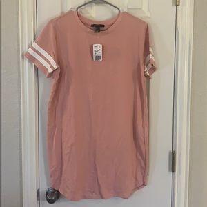 Pink varsity dress